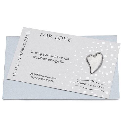 For Love Pocket Charm