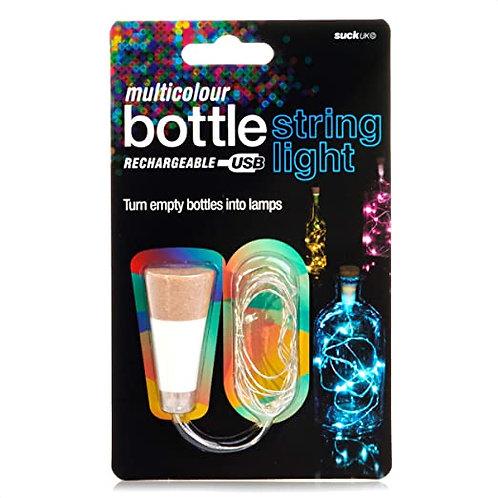 Multi Coloured String Bottle Light