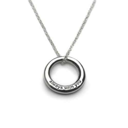 Always With You Circle Necklace