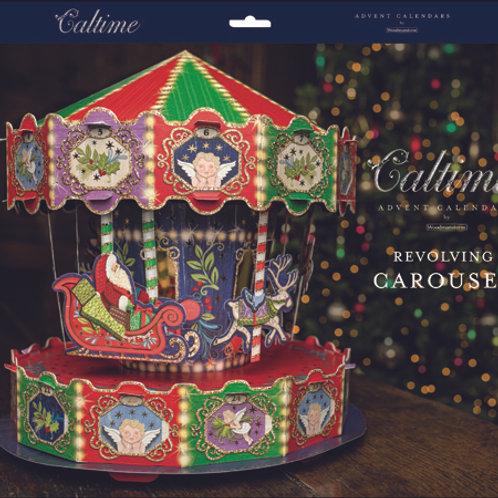 3D Revolving Carousel Advent Calendar