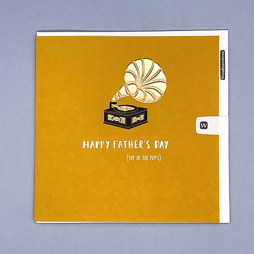 Father's Day Card Top of The Pops