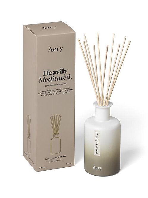 Aery Heavily Meditated Reed Diffuser