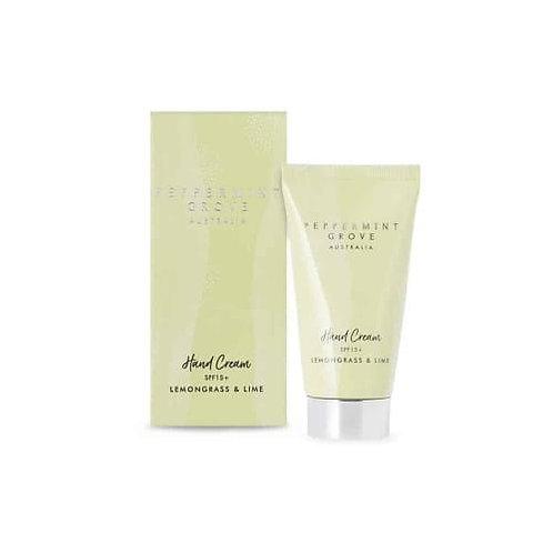 Peppermint Grove Leomongrass And Lime Hand Cream
