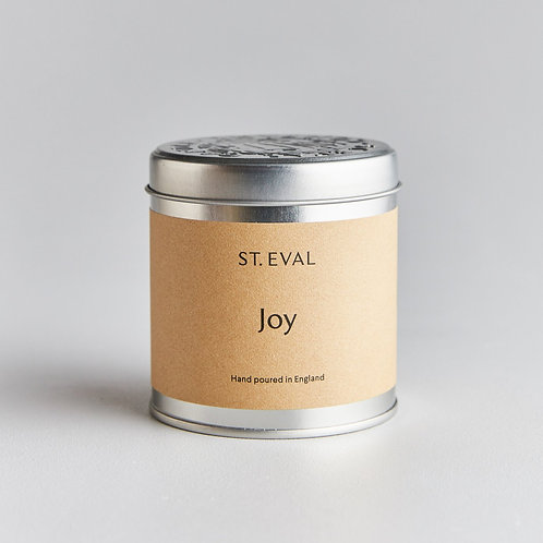 St Eval Joy Scented Tin Candle