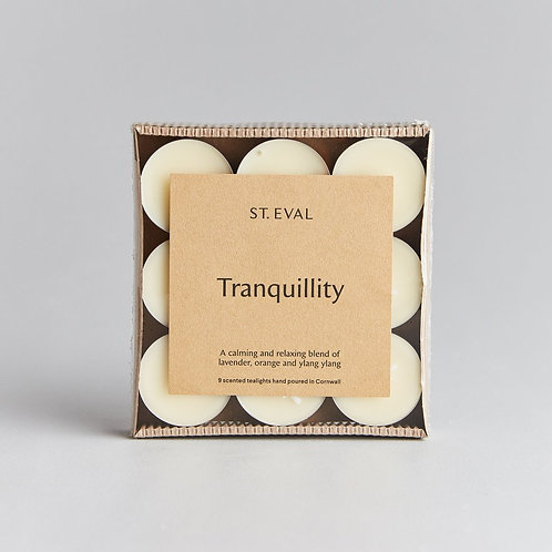 St Eval Tranquility Tealights Tray of 9