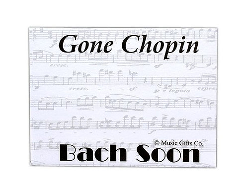 Sticky Notes Gone Chopin Bach Soon