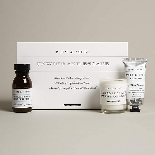 Plum And Ashby Unwind And Escape Gift Set