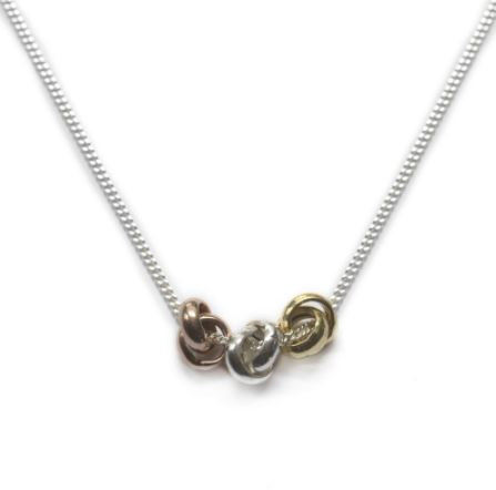 Thee Knot Necklace
