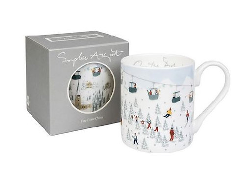 Sophie Allport On The Piste Christmas Mug