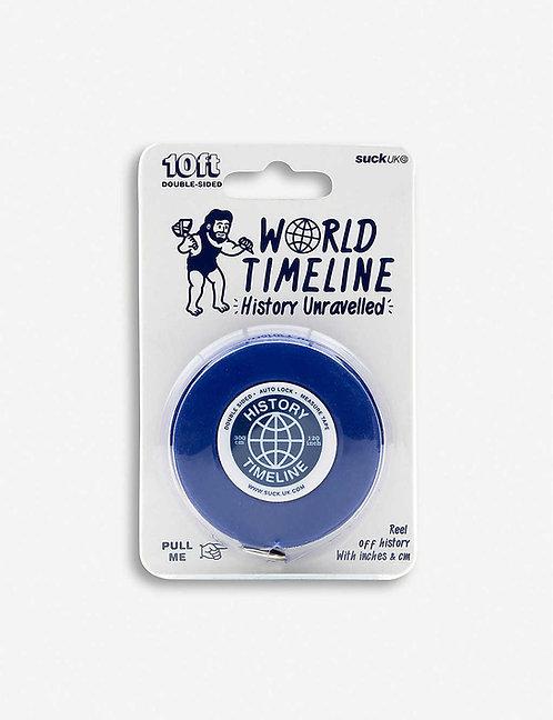 World Timeline Tape Measure