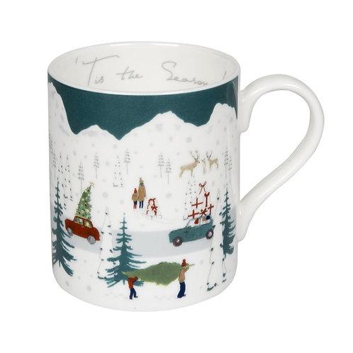Sophie Allport Tis The Season Christmas Mug