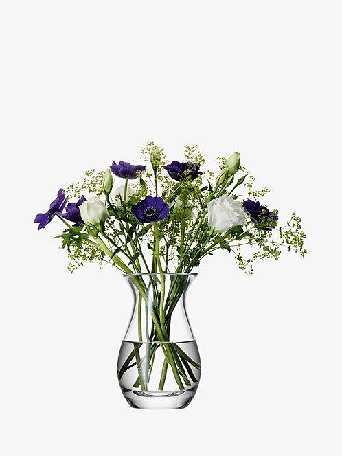 LSA Glass Posy Vase 17.5cm