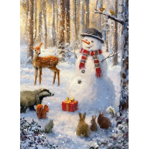 Winter Forest Christmas Card Pack of 8