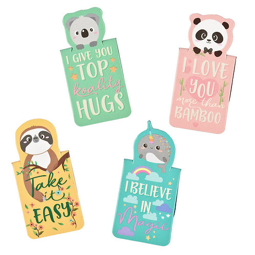 Animal Magnetic Bookmarks