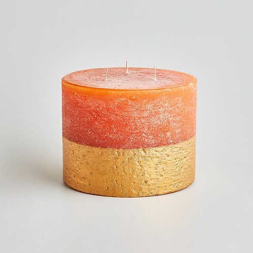 St Eval Orange And Cinnamon 3 Wick Candle