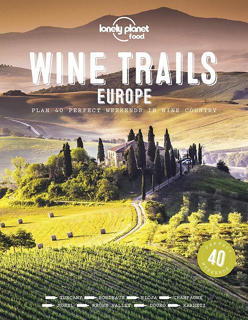 Wine Trails Europe Book