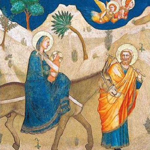Flight in to Egypt Christmas Card Pack of 5