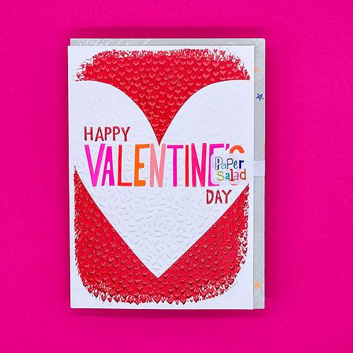 V/CARD VALENTINES HEART