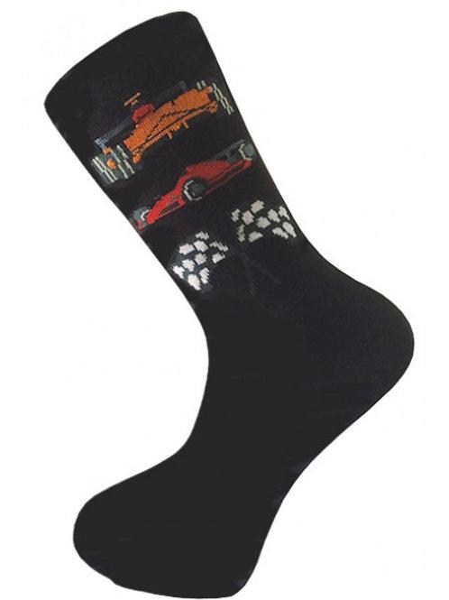 Racing Car Socks