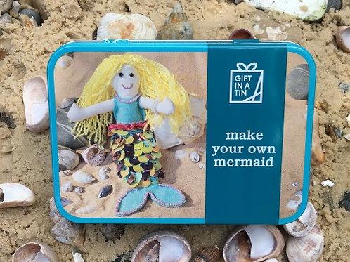 Make Your Own Mermaid Tin
