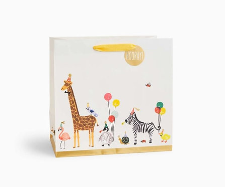 Rifle Paper Party Animals Large Gift Bag