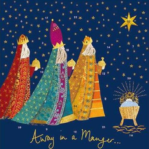 We Three Kings Advent Calendar Cards