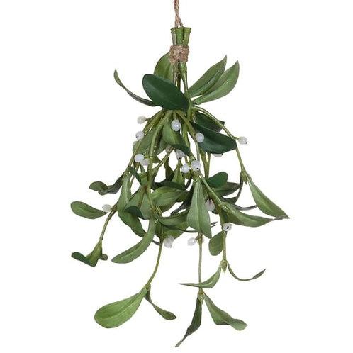 Hanging Mistletoe Bundle Christmas Decoration
