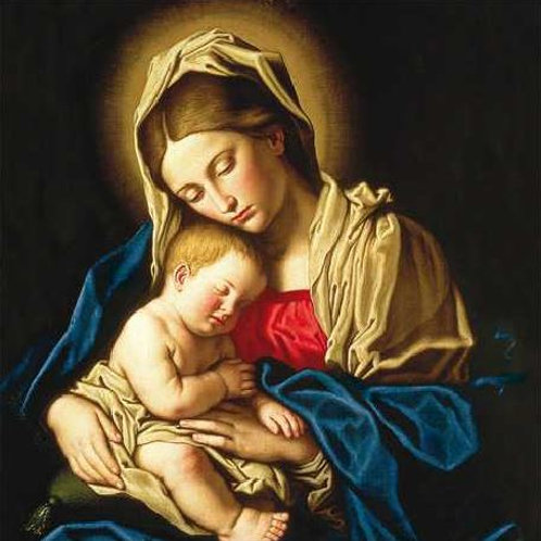 Madonna & Child Christmas Card Pack of 5