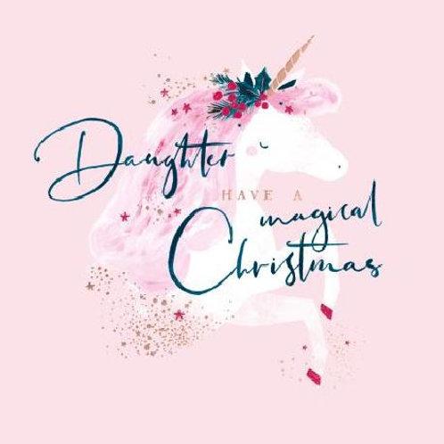 Magical Christmas Daughter Christmas Card
