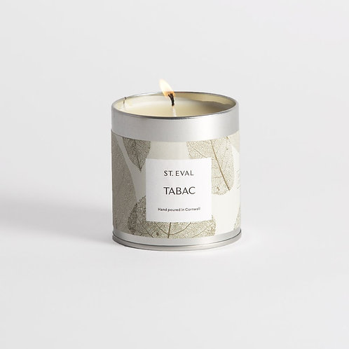 St Eval Garden Eden Tabac Scented Tin Candle