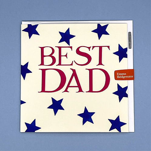 Father's Day Card Emma Bridgewater Blue Stars