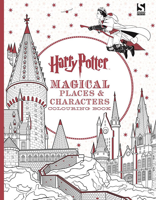 Happy Potter Magical Places & Characters Colouring Book