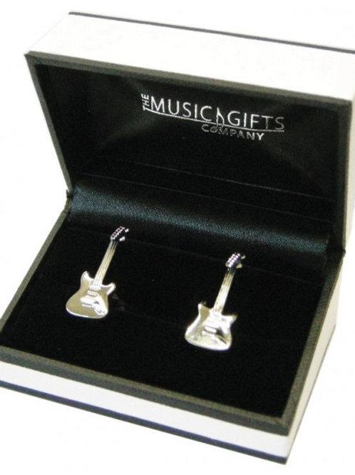 Electric Guitar Cufflinks