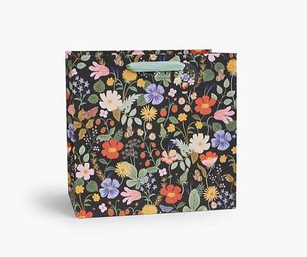 Rifle Paper Strawberry Fields Large Gift Bag