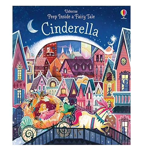 Cinderella Peek Inside Book