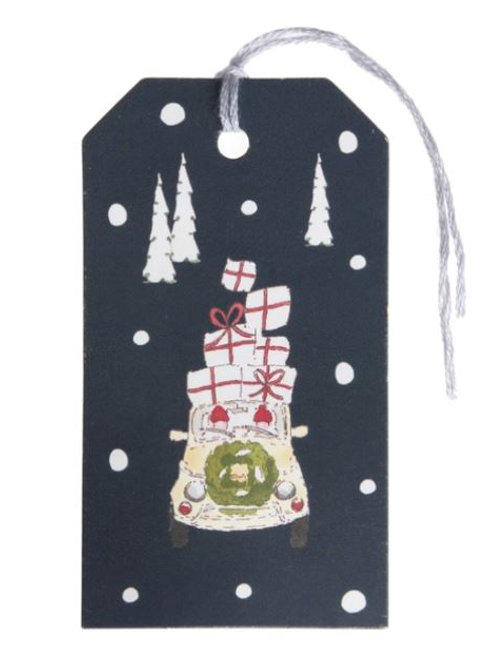 Sophie Allport Home For Christmas Gift Tags Set Of 8