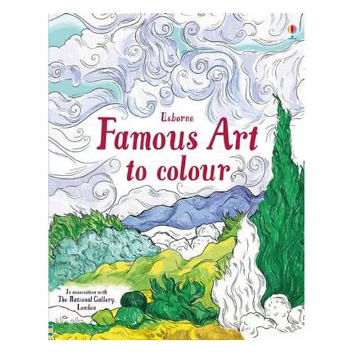 Famous Art to Colour Book