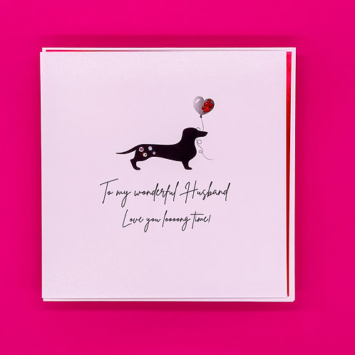 Husband Long Time Valentines Card