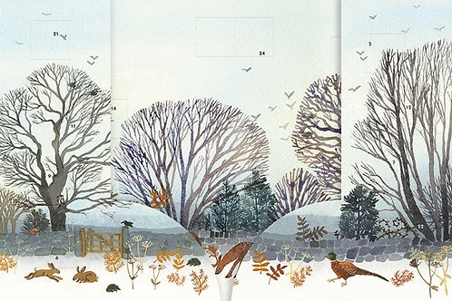 3D Woodland Scene Advent Calendar