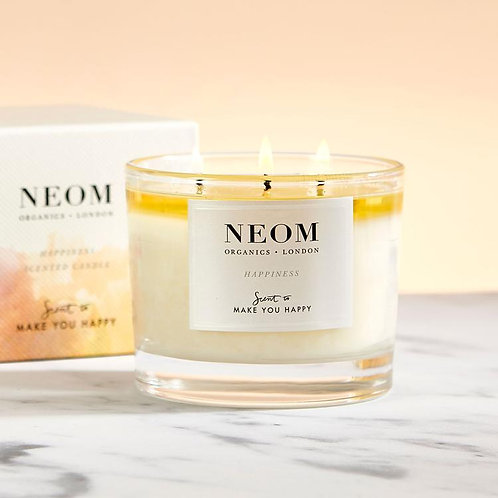 NEOM Three Wick Candle Happiness