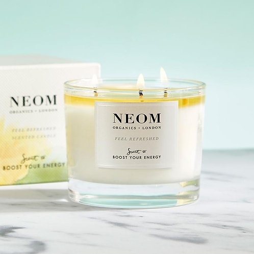 NEOM Feel Refreshed Candle 3 Wick
