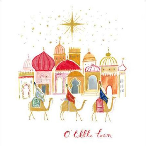 Wise Men Christmas Card Pack of 5