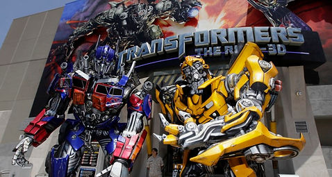 Transformers The Ride 3D Universal Studi