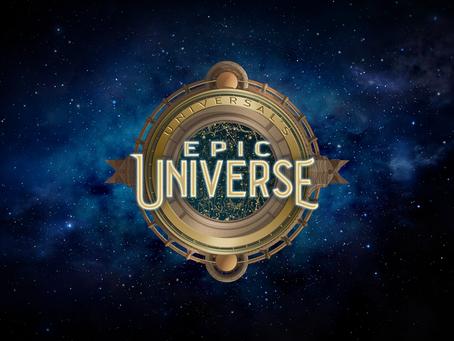 Universal Epic Universe!!! O novo parque da Universal Orlando Resort.