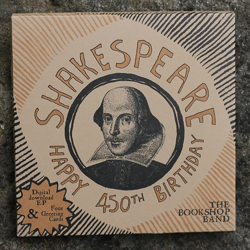 Happy 450th Birthday Shakespeare Musical Card Set