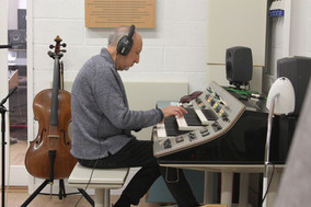 Pete Townshend gets musical on the recordings