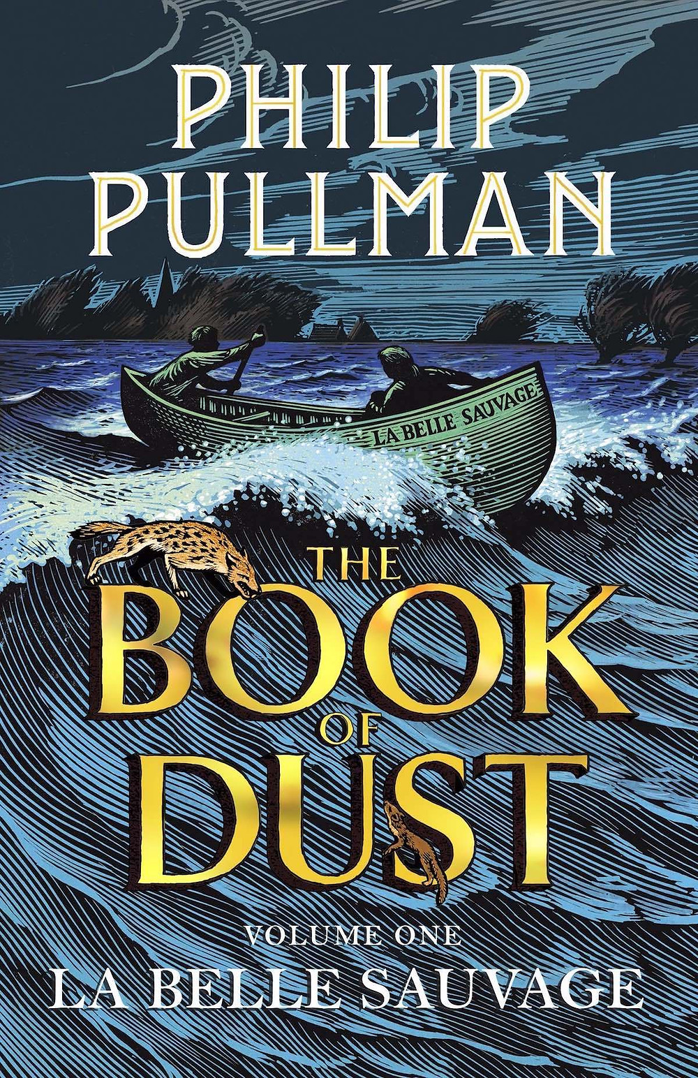 The Book Of Dust (cover), by Philip Pullman