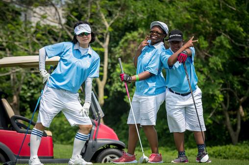 Golf 9 - Posing for the 2020 Sponsorship