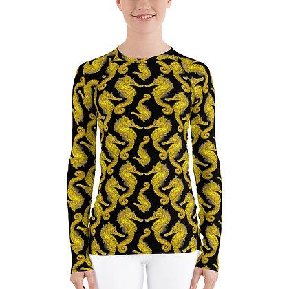 Yellow Seahorse