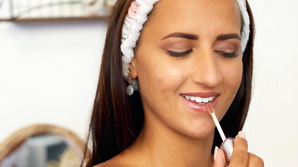 Bandeau à maquillage personnalisable